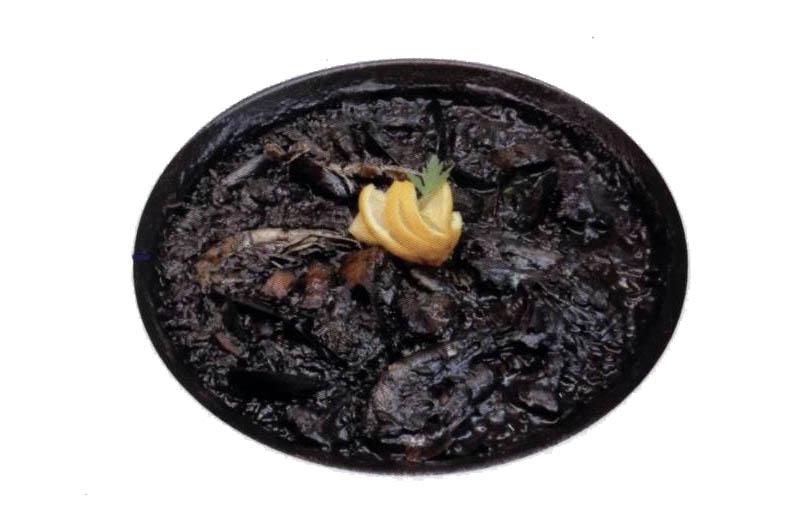 Paella Mixta Negra