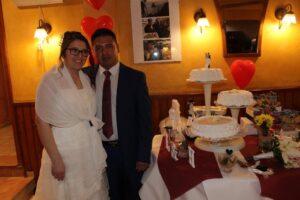Felicidades a los novios que celebraron su boda en nuestro restaurante!